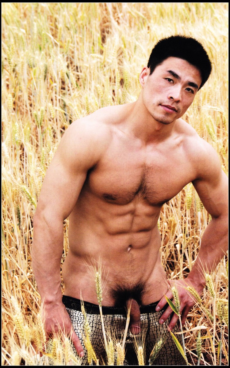 Naked asian men